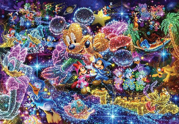 (透明樹脂) 迪士尼 - 星之願 1000塊 (51.2×73.7cm)