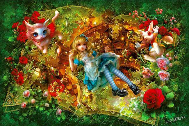 SHU - 愛麗絲逆轉世界 1000塊 (50×75cm)