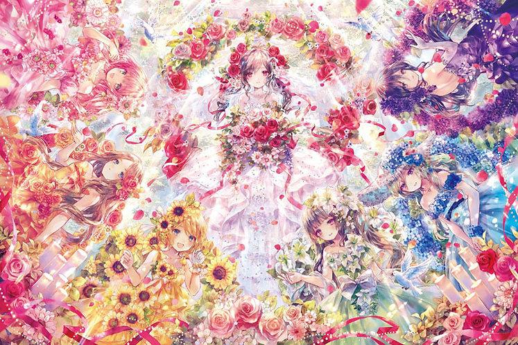 Onineko - 婚禮故事 1000塊 (50×75cm)