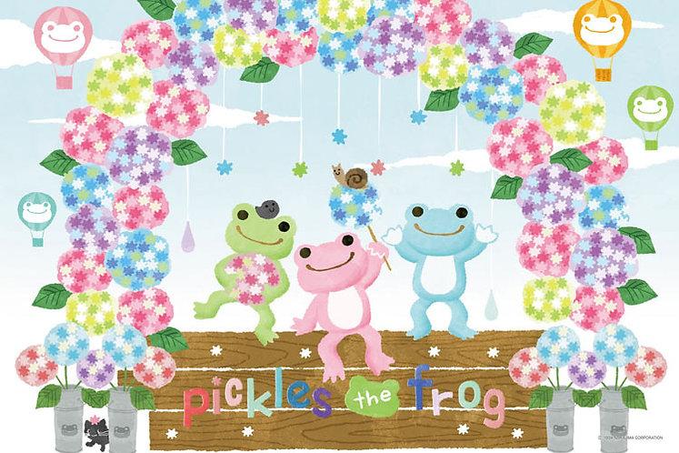 Pickles the Frog - 小青蛙繡球花 1000塊 (50×75cm)