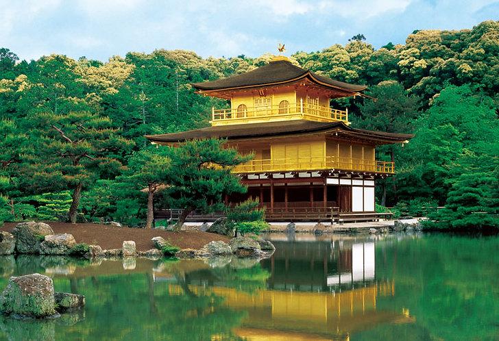 日本風景 - 金閣寺 300塊 (26×38cm)