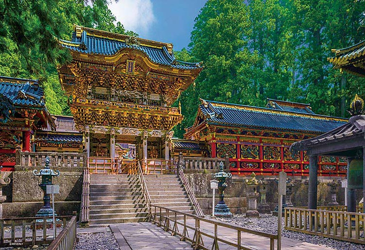 (迷你尺寸) 日本風景 - 日光東照宮 1000塊 (26×38cm)