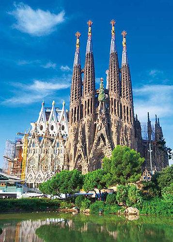 西班牙風景 - 聖家宗座聖殿暨贖罪殿 500塊 (38×53cm)