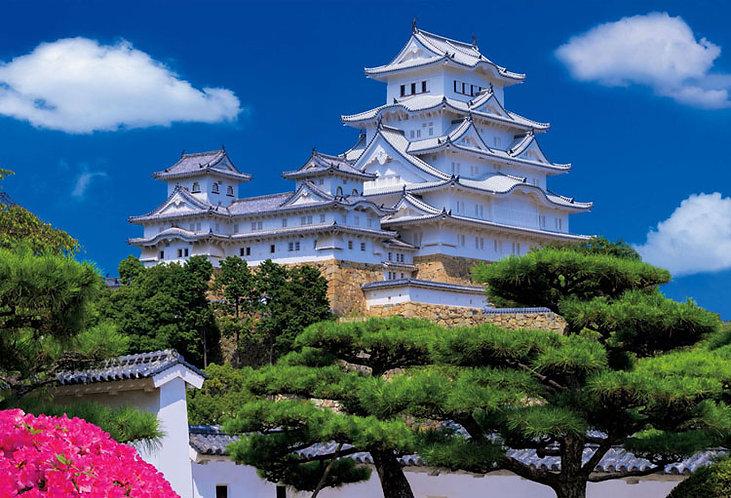 日本風景 - 姫路城 1000塊 (49×72cm)