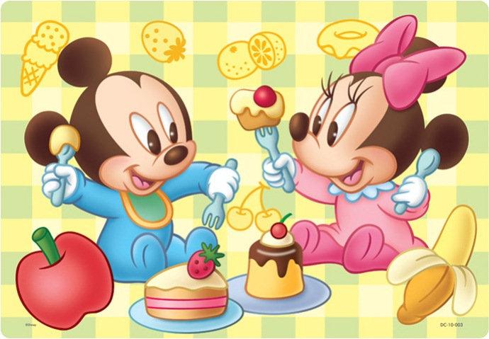 兒童向 - 迪士尼 米奇與米妮BB 10塊 (26×37.5cm)