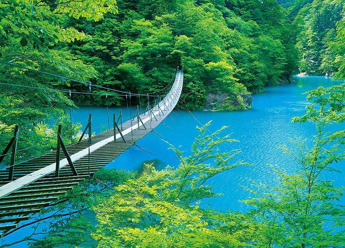 日本風景 - 靜岡夢之吊橋 500塊 (38×53cm)