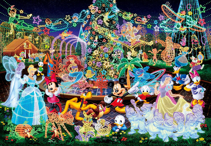 (夜光) 迪士尼 - 夢幻舞會 500塊 (35×49cm)