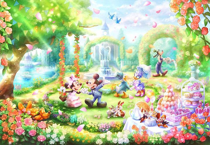 (環保樹脂) 迪士尼 - 玫瑰香水花園派對 1000塊 (51×73.5cm)