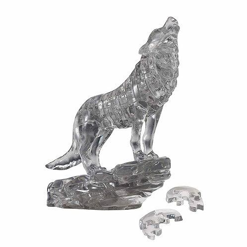 水晶立體 - 灰黑之狼 37塊