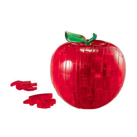 水晶立體 - 紅蘋果 43塊