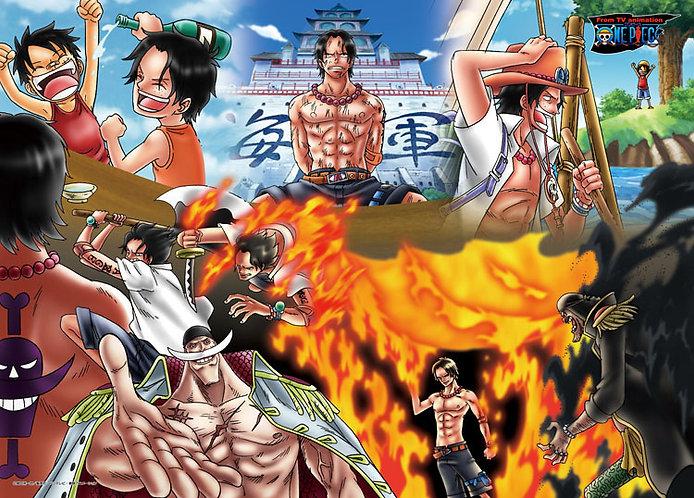 海賊王 - Fire First Ace 500塊 (38×53cm)