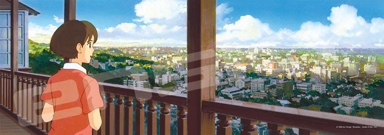夢幻街少女 - 地球商店的景色 352塊 (18.2×51.5cm)