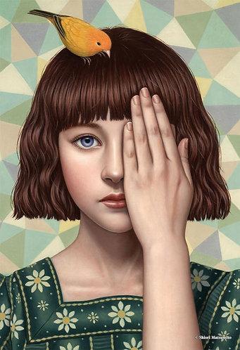 松本潮里 - 看不見的感覺 300塊 (26×38cm)