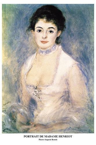 雷諾瓦 - 安麗歐夫人 1000塊 (50×75cm)