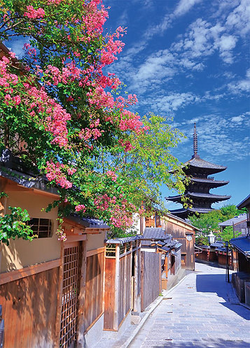 日本風景 - 通往八坂之路 500塊 (38×53cm)