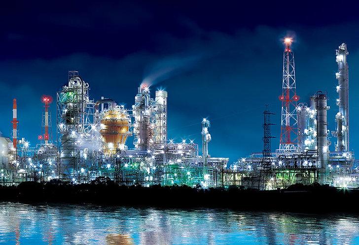 (夜光) 日本風景 - 四日市工廠區 300塊 (26×38cm)