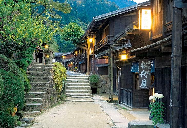 日本風景 - 長野妻籠宿 300塊 (26×38cm)
