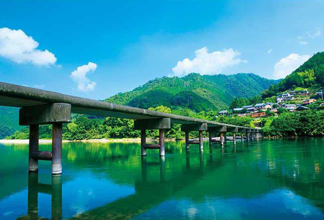 日本風景 - 下沉橋 300塊 (26×38cm)