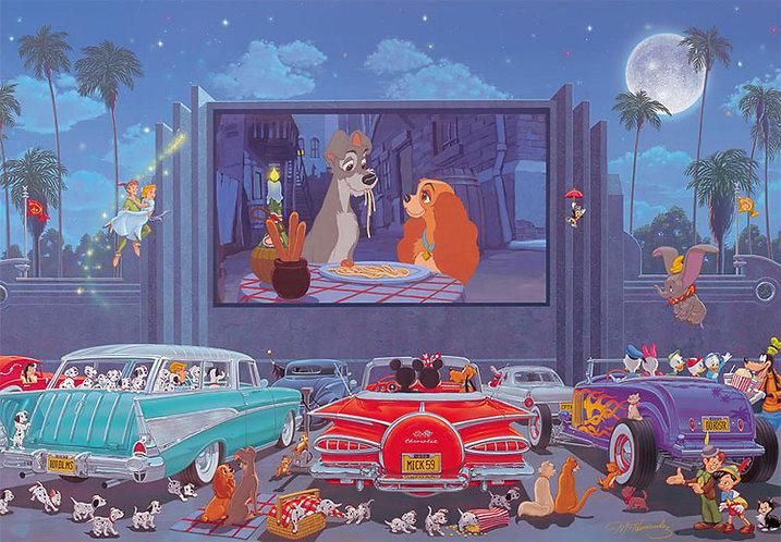 迪士尼 - 迪士尼電影之夜 1000塊 (51×73.5cm)