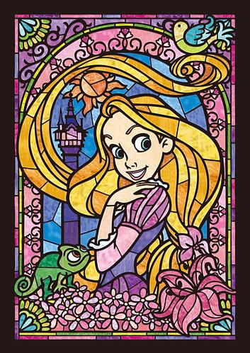 (透明樹脂) 魔髮奇緣 - 長髮公主肖像彩繪 266塊 (18.2×25.7cm)