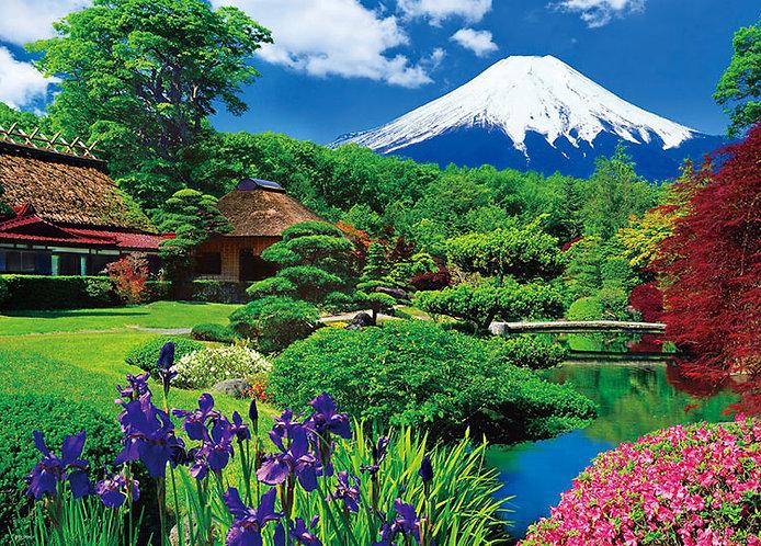 日本風景 - 忍野富士 600塊 (38×53cm)
