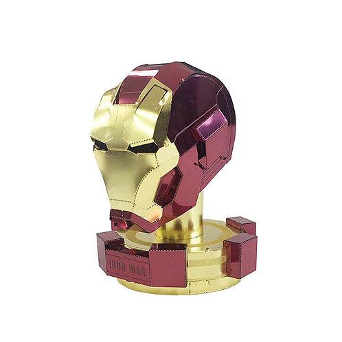 金屬立體 - 鐵甲奇俠 Ironman 頭盔
