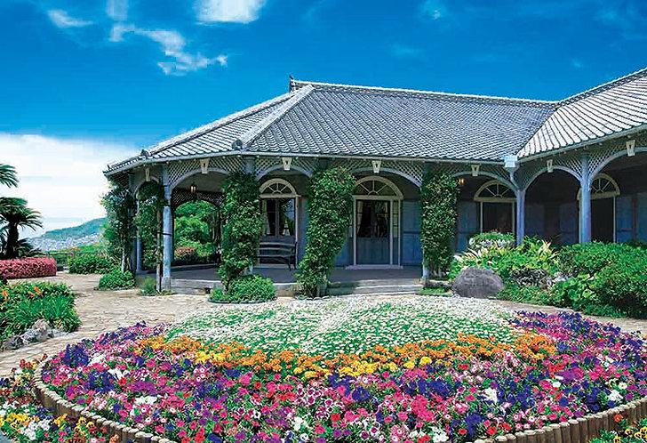 日本風景 - 古老洋式大宅 300塊 (26×38cm)