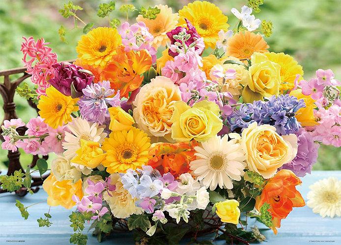 花藝 - 快樂的黃色花束 600塊 (38×53cm)