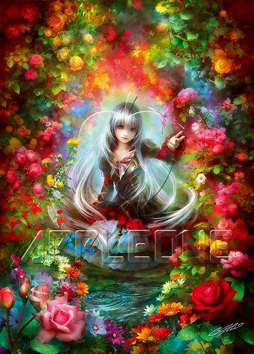 SHU - 花之女孩 500塊 (38×53cm)