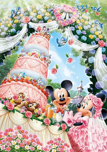 迪士尼 - 米奇米妮婚禮蛋糕 300塊 (30.5×43cm)