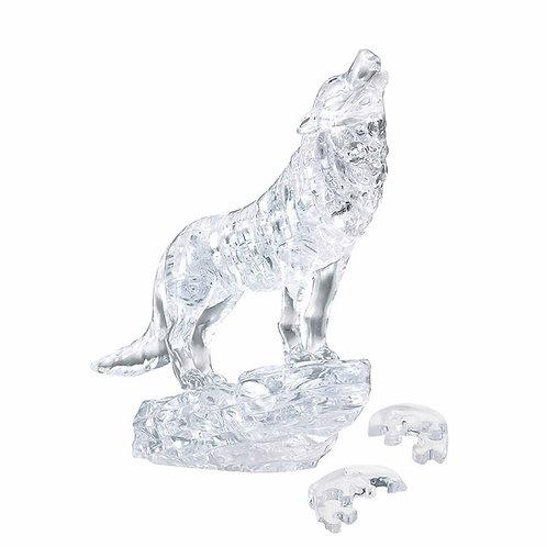 水晶立體 - 白銀之狼 37塊