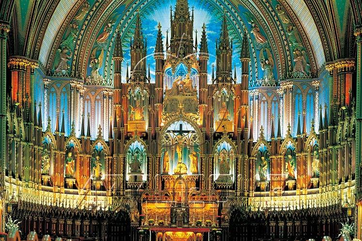 (夜光) 加拿大風景 - 巴黎聖母院 2000塊 (73×102cm)