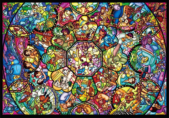 迪士尼 - 迪士尼全角色彩繪藝術 4000塊 (102×146cm)