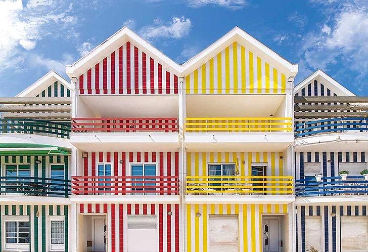 泰國風景 - 新星海岸小屋 300塊 (26×38cm)
