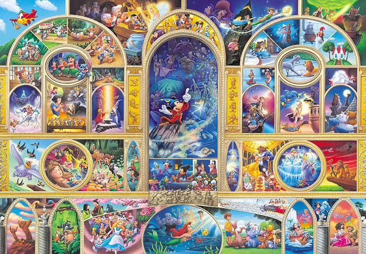 (透明樹脂) 迪士尼 - 所有人的夢想 500塊 (25×36cm)