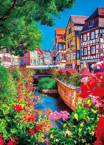 法國風景 - 葡萄酒之城 500塊 (38×53cm)