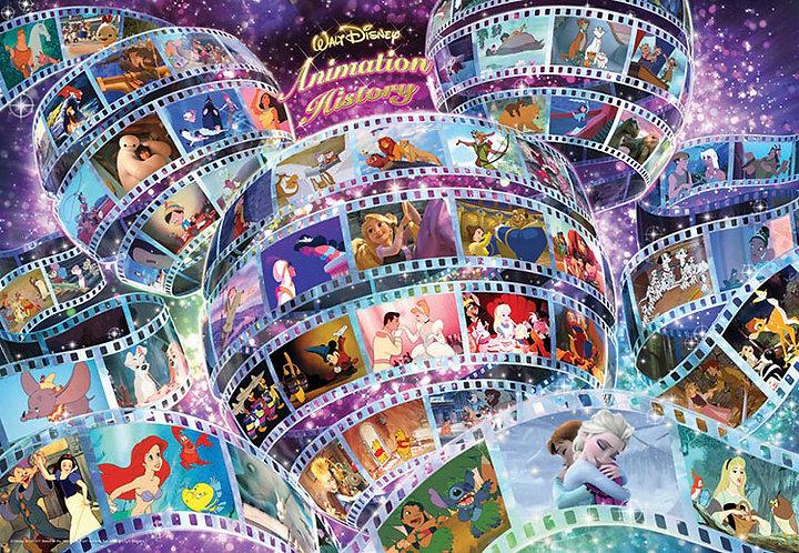 (鐳射閃面) 迪士尼 - 迪士尼歷代經典動畫 300塊 (30.5×43cm)