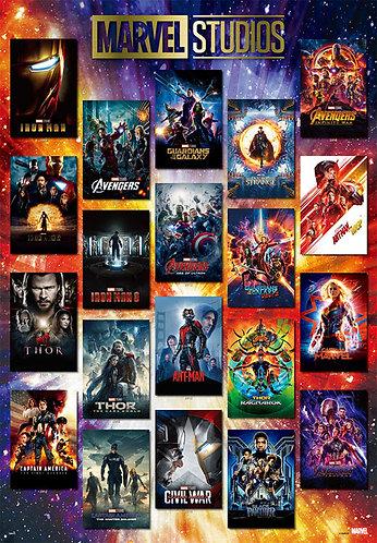 Marvel - 電影海報系列 1000塊 (51×73.5cm)