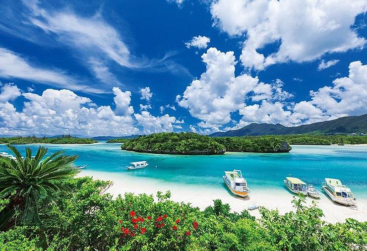 日本風景 - 石垣島的藍色海景 300塊 (26×38cm)