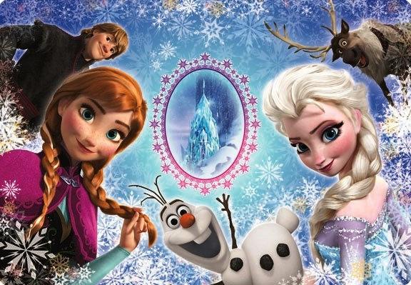 兒童向 - Frozen Anna & Elsa 41塊 (26×37.5cm)