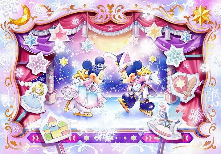 (環保樹脂) 迪士尼 - 米奇米妮舞台表演 500塊 (25×36cm)