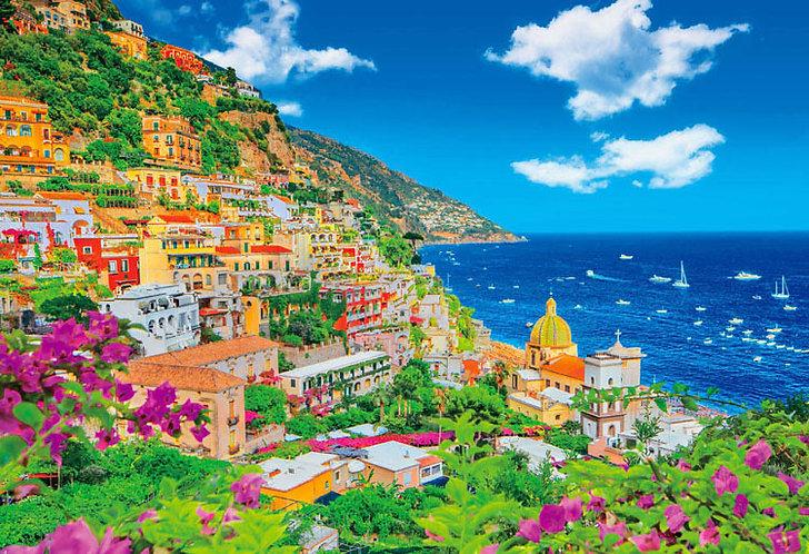 (迷你尺寸) 意大利風景 - 阿瑪菲海岸 1000塊 (26×38cm)