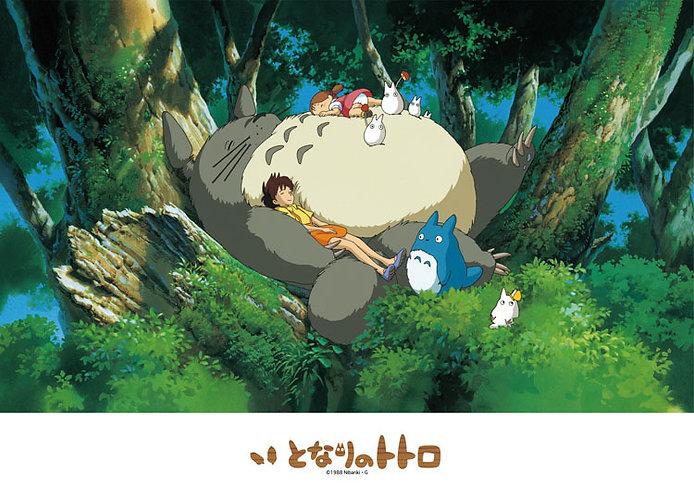 龍貓 - 在龍貓上熟睡 500塊 (38×53cm)