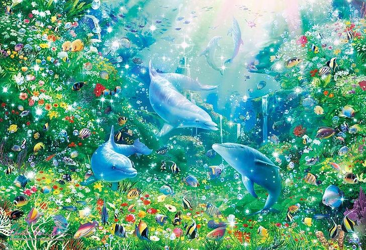 (夜光) Christian Lassen - 盛開的海洋 300塊 (26×38cm)