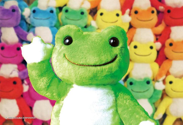 Pickles the Frog - 青蛙毛公仔 300塊 (26×38cm)