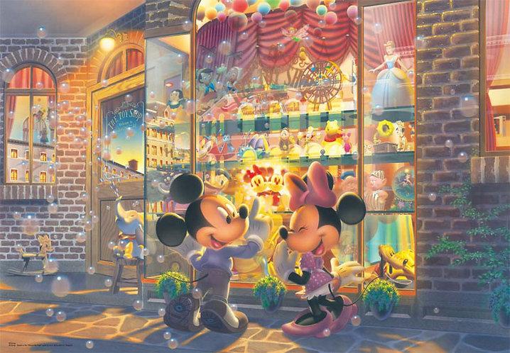 迪士尼 - 黃昏玩具店前 108塊 (18.2×25.7cm)