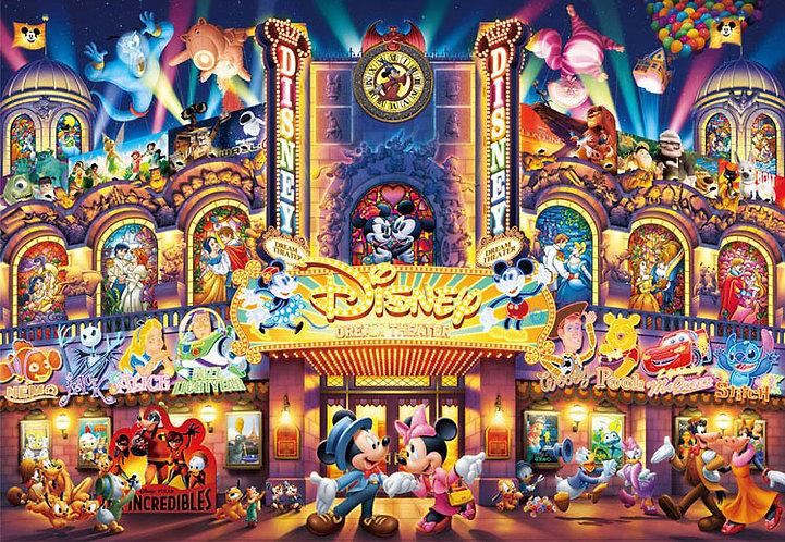 迪士尼 - 迪士尼夢幻劇院 108塊 (18.2×25.7cm)