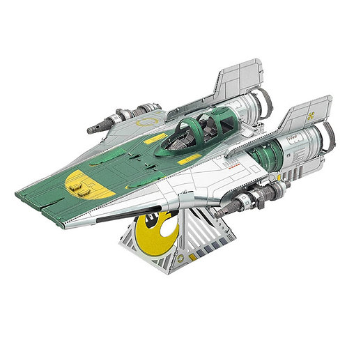 金屬立體 - 星球大戰 RESISTANCE A-WING FIGHTER