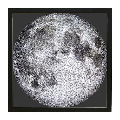 The Moon月球系列實木框 黑色 - 67.3×67.3cm