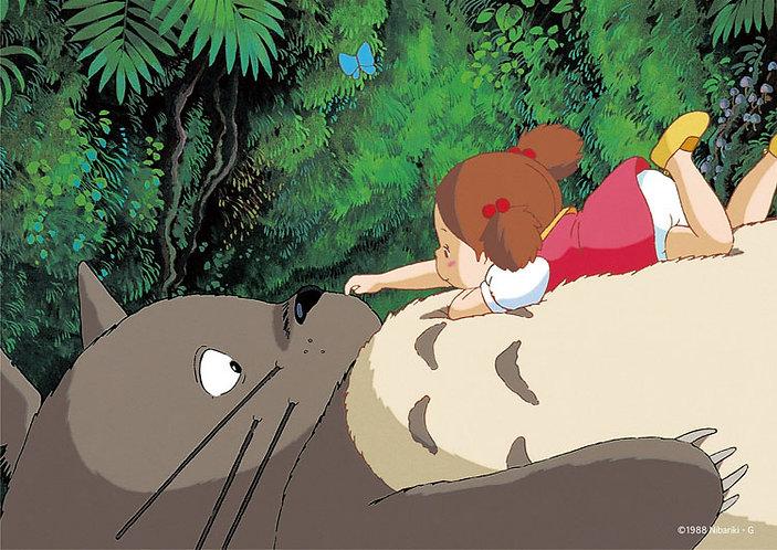 龍貓 - 在龍貓的肚子上 108塊 (18.2×25.7cm)